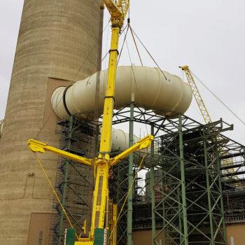 Allied Crane Hire_Liebherr LTM1500_All Terrain_550T_Crane_Power Plant